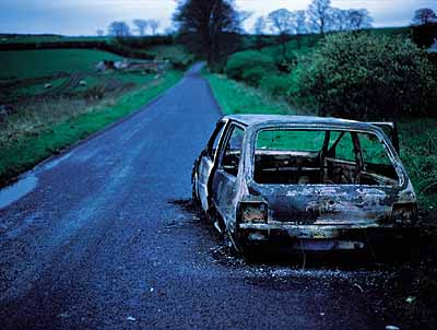 Willie DohertyIncident 1993cibachrome on aluminum123 x 184 cm