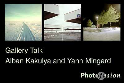 Gallery Talk - Alban Kakulya and Yann Mingard