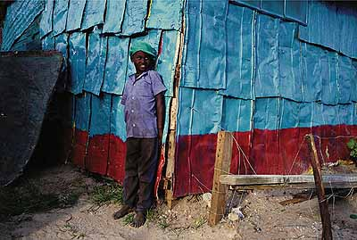 Tin Shack. Lusaka, 1990