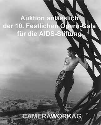 Auktion anlässlich der 10. Festlichen Opern-Gala für die AIDS-Stiftung