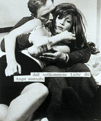 Astrid Klein o. T. (dass vollkommenen Liebe...), 1979 Foto-Collage auf Fotopapier 120 x 125 cm Edition 1/2