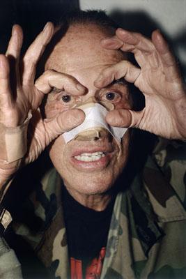 """Jeff Burton , """"Untitled #206 (Kenneth Anger Eyes)"""", 2006 , Courtesy Jeff Burton und Casey Kaplan, New York , © Jeff Burton"""