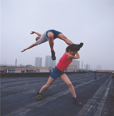 Li Wei The Life is aloft it one 2 150 x 150 cm