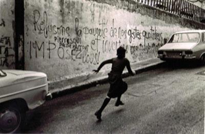 Chaim Kanner, Marseille, 1976, tirage d'époque, argentique fait par l'artiste