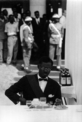 © Robert Lebeck . Patrice Lumumba, Leopoldville 1960