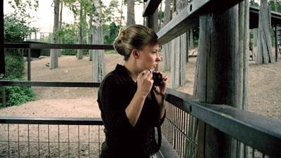 Salla Tykkä, Zoo, 2006, 35 mm film still. Courtesy of the artist / Yvon Lambert Gallery, New York