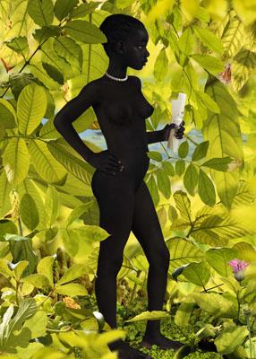 Ruud van Empel , Venus 6, 2007 , 118,9 x 84,1 cm , cibachrome print, dibond, plexiglass