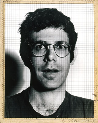 "Chuck Close, Study for ""Bob"", 1969 , Gelatine-silver print and graphite, 36,8 x 30 cm, Collection Fotomuseum Winterthur, acquisition made possible by the ""Jedermann Collection"" donors' group, © Chuck Close"