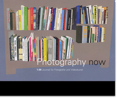 Photography now 1.08:  jan / feb / mar 2008