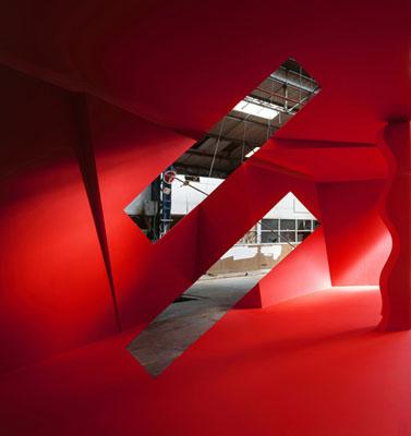 Vitry, 2007Lambda print© Georges Rousse. Galerie RX, Paris.