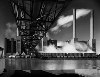 Kraftwerk, Wolfsburg 1971Schwarzweiß-Fotografie4148/5Foto: Heinrich Heidersberger© artur/Institut Heidersberger