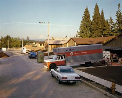 JOEL STERNFELDAMERICAN PROSPECTS series:Gresham, Oregon, June 1979Negative: 1979, Print: 2008Digital C-Print, 107 x 133 cmcourtesy of the artist and Buchmann Galerie, Berlin