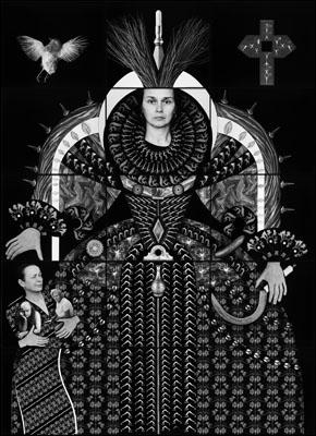 The Splendour of Myself V (Mother, Daughter, Partner)