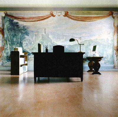 "Vatican Secret Archives from the series ""Puple Desks"" 2004-2007 (Rome, Italy) © Matthias Schaller"
