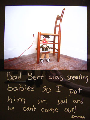 © Jerry Berndt aus der Serie: The Babies, 1982, Cibachrome , 40 x 50 cm