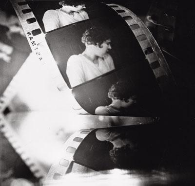 © Jaroslav Rössler, Untitled (composition with film-strip), ca. 1926/1991. Jaroslav Rössler - Portfolio 1991 - Prague House of Photography