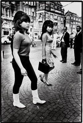 Ed van der Elsken , Dam, 1966© Ed van der Elsken / Nederlands Fotomuseum, courtesy Annet Gelink Gallery