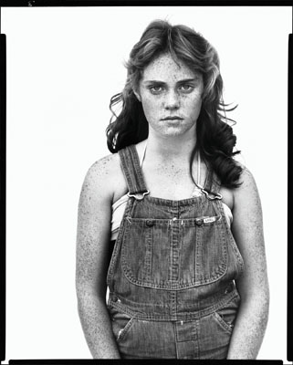 Sandra Bennett, twelve year old, Rocky Ford, Colorado, August 23, 1980Photograph Richard Avedon© 2008 The Richard Avedon Foundation