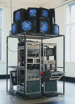 Nam June Paik, Video-Synthesizer, 1969/92Kunsthalle Bremen© Nam June Paik Studios, Inc.Foto: Jürgen Nogai