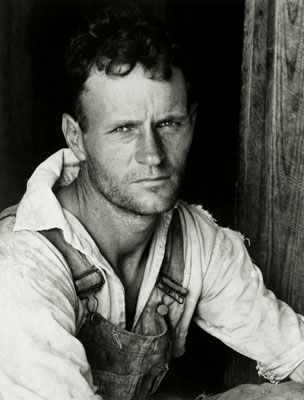 Walker Evans Alabama Tenant Farmer, 1936Vintage gelatin silver print 18 x 20.7 cmPrivate collection © Walker Evans Archive, The Metropolitan Museum of Art