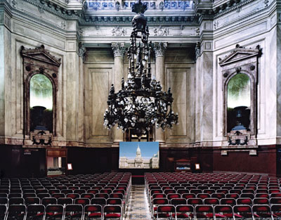 Candida HöferCongress of Buenos Aires I, 2006© Candida Höfer/VG Bild-Kunst, Bonn/ SAVA, Buenos Aires 2009C-print200 x 251 cmArtist's collection