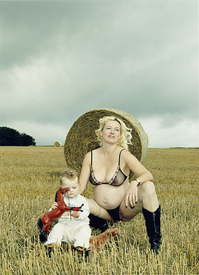 """A Portrait of the Artist as a Young Mother"", © Katharina Bosse, 2004-2007, 125 x 160 cm"