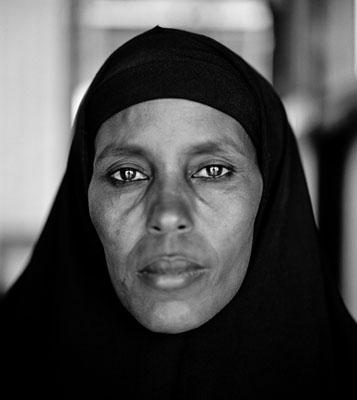 Abshiro Aden Mohammed, Women's Leader, Somali refugee camp, Dagahaley, Kenya © Fazal Sheikh 2009