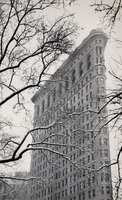 © Michael Kenna. Flatiron Building, Study 2, New York City, USA, 2003