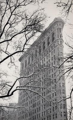 © Michael Kenna. Flatiron Building, Study 2, New York City, USA, 2003