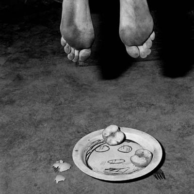Roger Ballen, Boarding House, Fragments, 2005, courtesy of Hamiltons Gallery