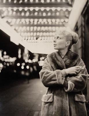 Paul Himmel: , Lillian Bassman, undatiert. , Silbergelatine, 34,5 x 26,7 cm , © Paul Himmel