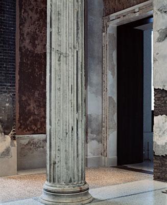 Thomas Florschuetz, Enclosure (Neues Museum) 25, 2009/2010, C-print, Diasec © VG Bild-Kunst, Bonn 2010