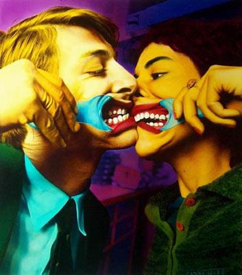 Ouka Leele. El Beso (Kiss), 1980.
