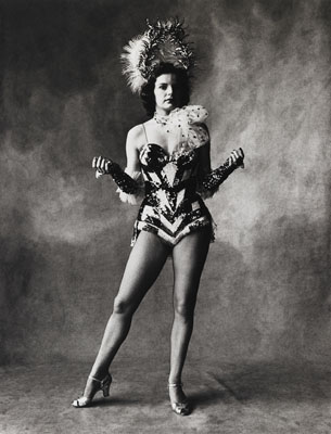 Irving Penn, Small Trades, Rockette, New York, 1951, © by the Irving Penn Foundation