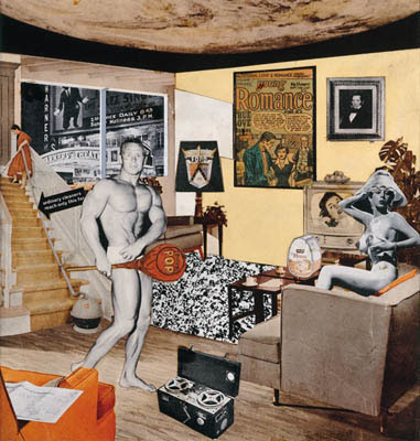 Richard Hamilton, just what is it that makes today's homes , so different, so appealing?, 1956, Sammlung Zundel, Kunsthalle Tübingen, © VG Bild-Kunst, Bonn 2009, Foto: Volker Naumann, Schönaich