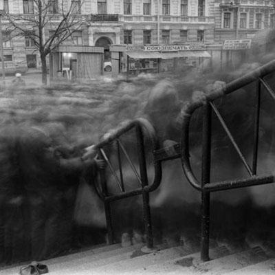 Alexey Titarenko, Untitled (Variant Crowd 2), 1993, gelatin silver print