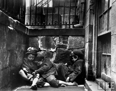"""from Jacob Riis (1849 - 1914) """"How the other half lives"""""""