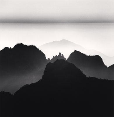 Huangshan Mountains, Study 2, Anhui, China, 2008 © Michael Kenna