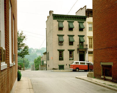Stephen Shore Church Street and Second Street, Easton, Pennsylvania, June 20, 1974 © Stephen Shore, Courtesy 303 Gallery New York