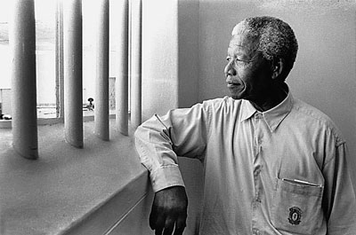 © Jürgen SchadebergNelson Mandela's Return to his Cell on Robben Island, 1994