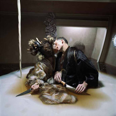 from Drawing Restraint 9, a film by Matthew Barney with a soundtrack composed by Björk, © Matthew Barney