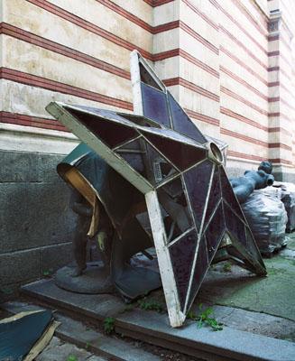 Margret Hoppe, aus der Serie Bulgarische Denkmale, 2008
