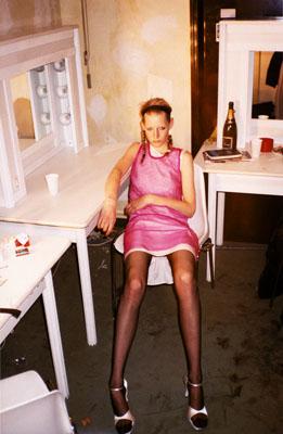Juergen Teller, Helmut Langbackstage series, 1993-1999, Courtesy Juergen Teller, MMK Museum für Moderne Kunst, Frankfurt am Main