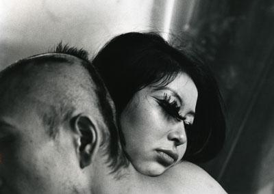 Shomei Tomatsu Blood & Roses 2, Tokyo 1969 Period silver gelatin print 23 x35cm