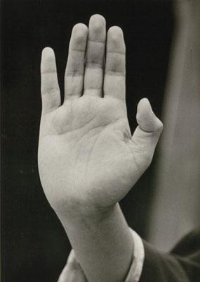 Germaine Krull, Saving Mudra, 1950er/1981Silbergelatinebaryt, 16,1 x 11,4 cm (Darstellung), 3/12© Museum Folkwang, Essen
