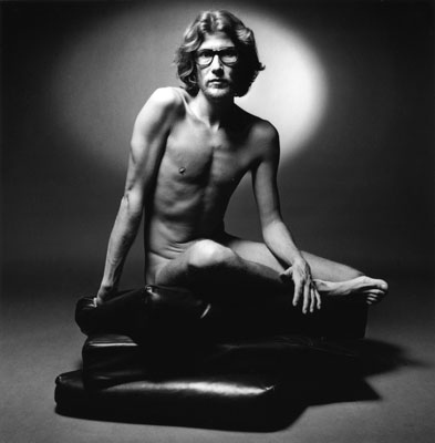 Jeanloup Sieff, Yves Saint-Laurent, Paris, 1971, courtesy of Hamiltons Gallery