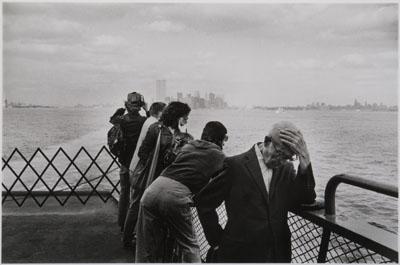 Arno Fischer, New York, Staten Island Ferry 1978, © Arno Fischer, Foto: Kai-Annett Becker