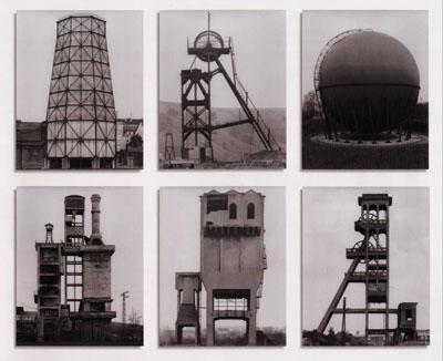 """""""Bernhard und Hilla Becher. Anonyme Skulpturen. Eine Typologie technischer Bauten"""". Verlag Art-Press, Düsseldorf, Allemagne, 1970"""