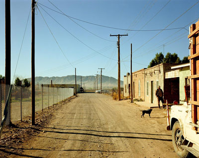 Stephen Shore (American, b. 1947), ALLEY, PRESIDIO, TEXAS, February 21, 1975, © Stephen Shore