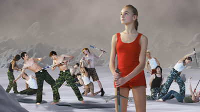 AES+F, Last Riot, 2007, Video/Installation, © AES+F. Courtesy Triumph Gallery and Multimedia Art Museum Moscow (MAMM)